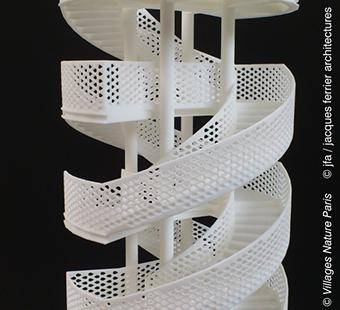 3d-printed-model-stairway-Disney-Center-Parcs-01