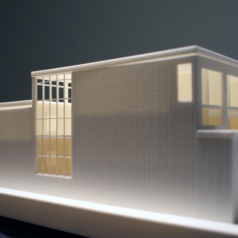 3d-model fabrieksgebouw