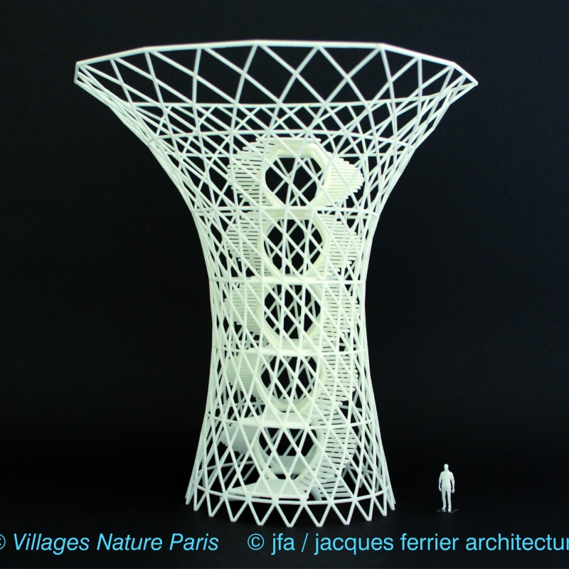 Schaalmodel Toren